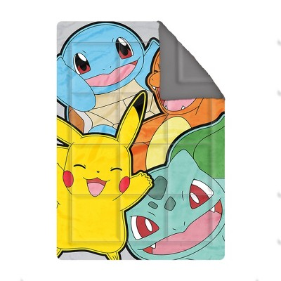 Pokemon Kantos Play Weighted Blanket