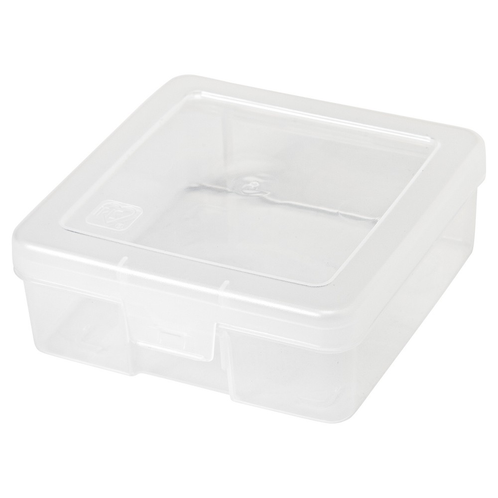 Image of Iris 10pk Modular School Supply Storage Case Small