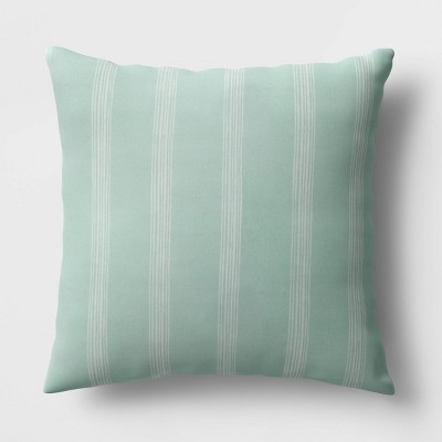 Stripe Throw Pillow Mint - Room Essentials™