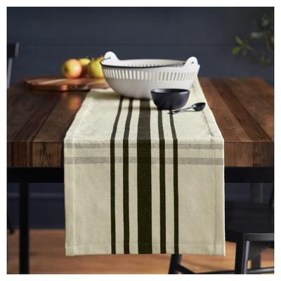 Woven Plaid Table Runner   Cream/Black   Hearth U0026 Hand™ With Magnolia :  Target