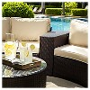 Catalina Outdoor Wicker Arm Table - Crosley - image 4 of 4