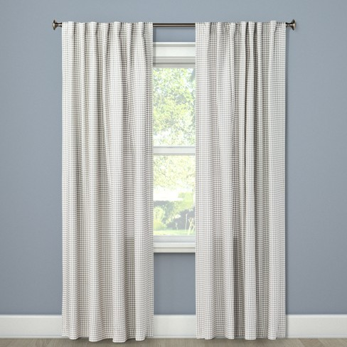 84 X54 Light Filtering Curtain Panel, 84 In Curtains