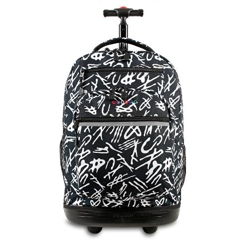 """J World 20"""" Sundance Laptop Rolling Backpack - Script - image 1 of 7"""
