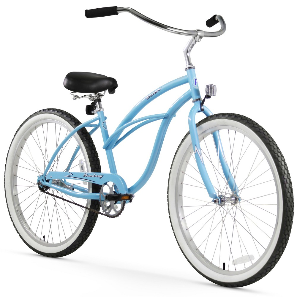 Firmstrong Urban Lady 26 Single Speed Beach Cruiser Bicycle - Baby Blue, Light Blue
