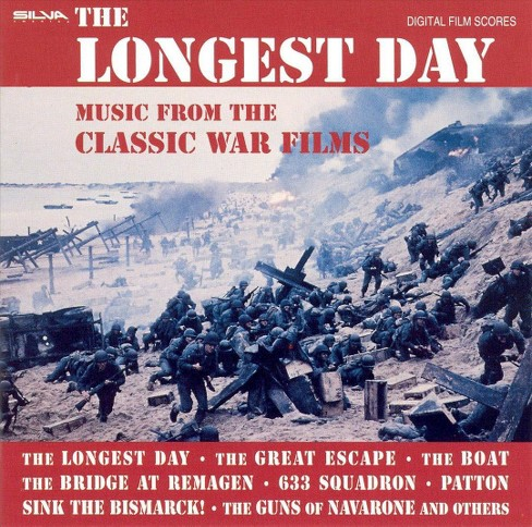 Various - Longest Day:War Films (Ost) (CD) - image 1 of 2