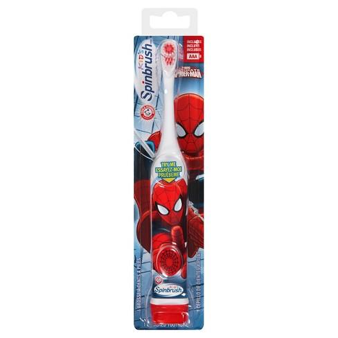 Arm & Hammer The Amazing Spider-Man Kid's Spinbrush Powered Toothbrush - image 1 of 1