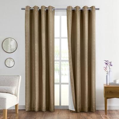 Springfield Energy Saving Room Darkening Lined Window Curtain Panel - Thermalogic