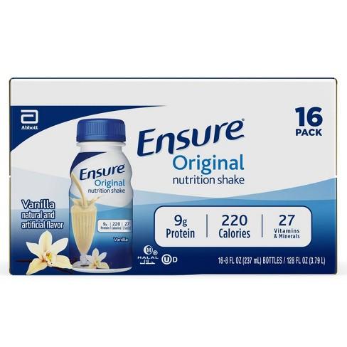 Ensure Original Nutrition Shake - Vanilla - image 1 of 4