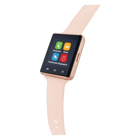 d83245302343 ITouch Air Pulse Smartwatch - Black Rose Gold   Target