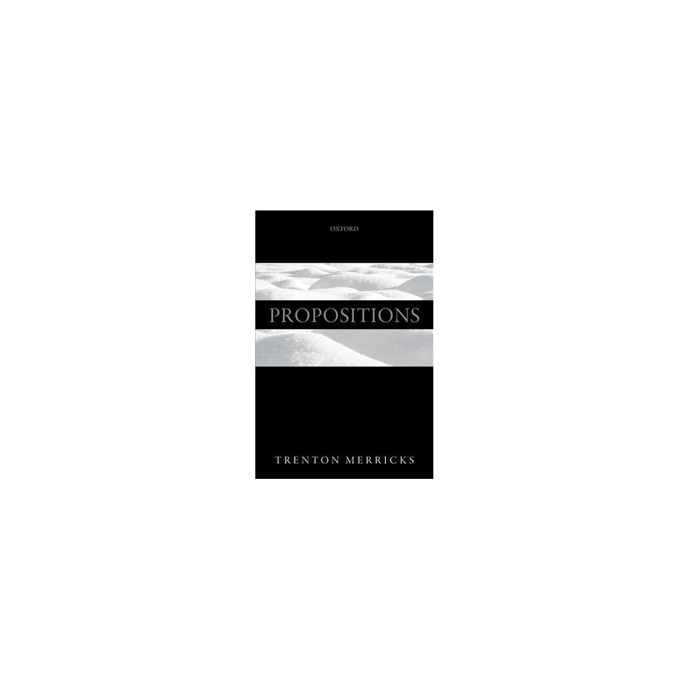 Propositions - Reprint by Trenton Merricks (Paperback)