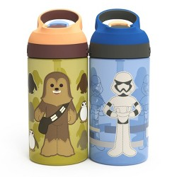 Star Wars Galaxy's Edge 16oz 2pk Plastic Creature Shop Atlantic Water Bottles