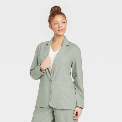 Women's Blazer - A New Day™ Green
