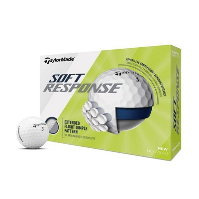 TaylorMade Soft Response Golf Balls White - 12pc