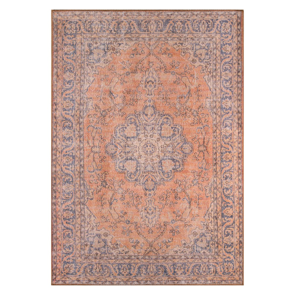 2'X3' Medallion Loomed Accent Rug Copper (Brown) - Momeni