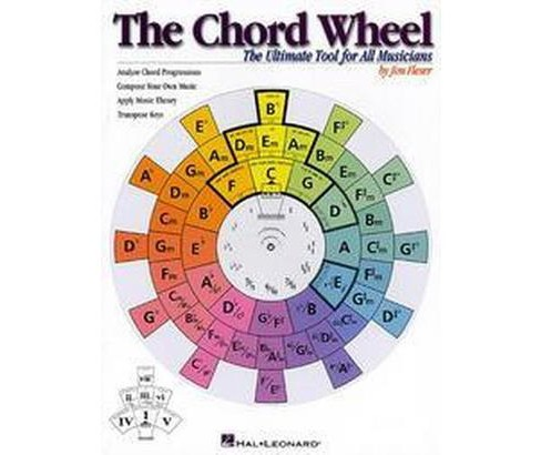 Chord Wheel : The Ultimate Tool for All Musicians (Paperback) (Jim Fleser) - image 1 of 1