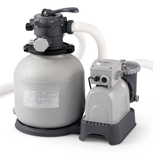 Intex Krystal Clear 3000 GPH Above Ground Pool Sand Filter Pump and Wall Skimmer - image 1 of 4
