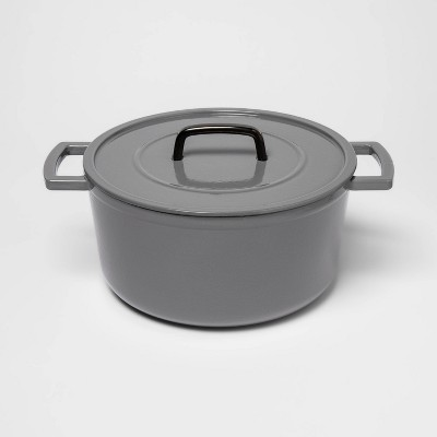 7qt Cast Iron Round Dutch Oven - Threshold™