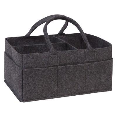 Trend Lab Felt Storage Caddy - Charcoal Gray