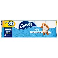 Target.com deals on 60-Count Charmin Ultra Soft Toilet Paper Mega Rolls