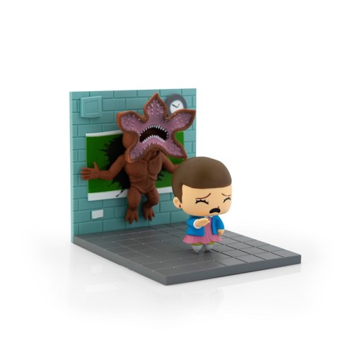 Loot Crate Stranger Things Eleven Vs. Demogorgon Exclusive Diorama | SuperEmoFriends Design - image 1 of 4
