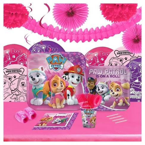 Pink Paw Patrol 16 Guest Party Pk with Decoration Kit - image 1 of 1