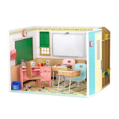Our Generation Awesome Academy School Room for 18 in Dolls - image 1 of 4