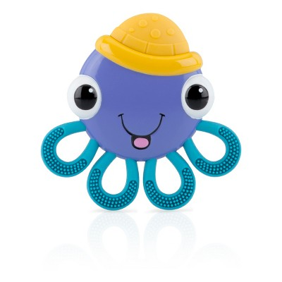 Nuby Vibe-eez Baby Teether - Octopus