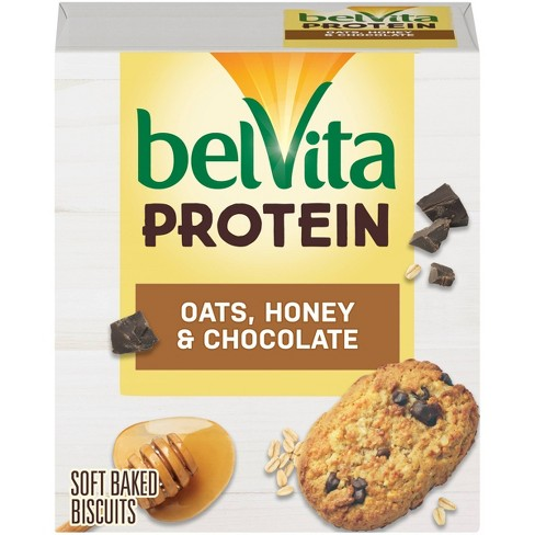 belVita Protein Oats Honey and Chocolate Breakfast Bars - 5ct - image 1 of 4
