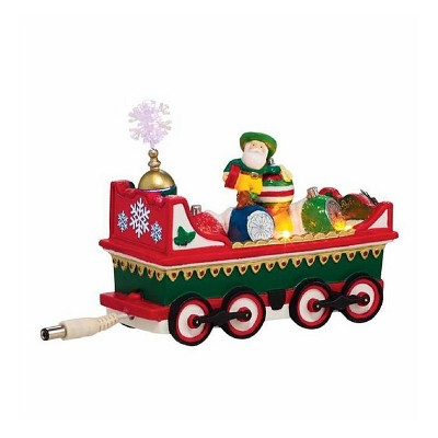 """Department 56 North Pole Series LED Lighted """"Northern Lights Ornament Car"""" Accessory #4036548"""