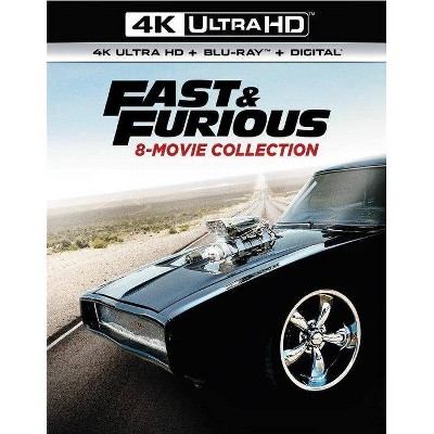 Fast & Furious: 8-Movie Collection (4K/UHD)(2019)