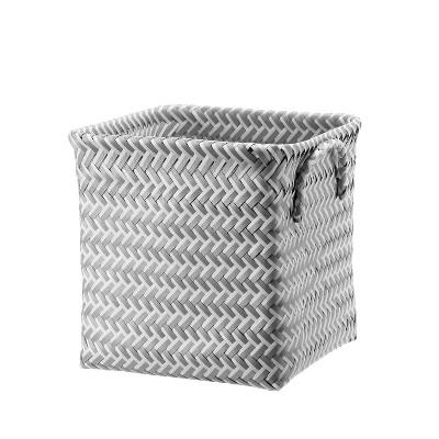 Cube Storage Bin 11  Cube White - Room Essentials™