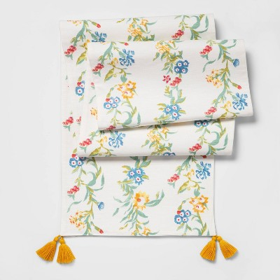 "14""x108"" Floral Vine Table Runner - Opalhouse™"