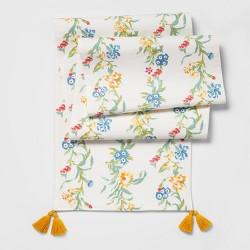 Floral Table Runner Vine - Opalhouse™