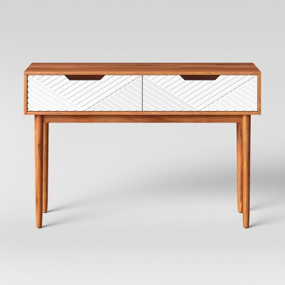 Touraco Console Table Brown/White - Opalhouse™