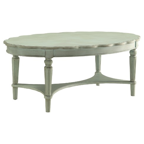 Coffee Table Antique Green - image 1 of 6