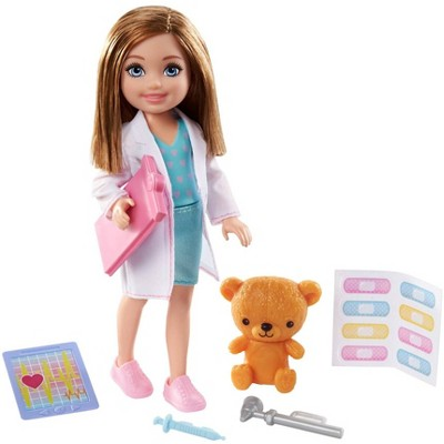 Barbie Chelsea Can Be Doctor Doll Playset
