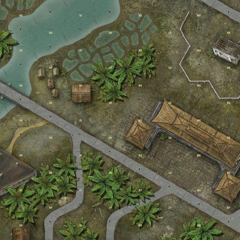 Hue City Map Expansion Board Game - image 1 of 1