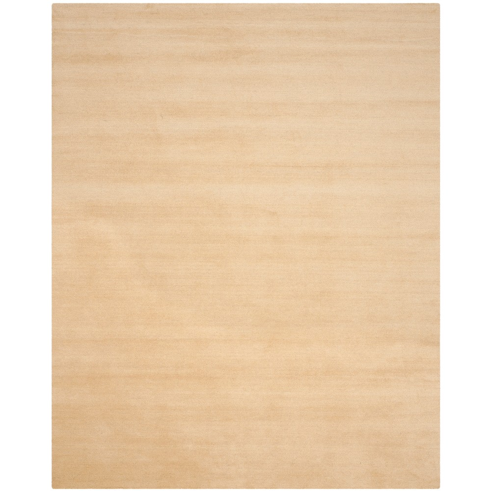 Solid Tufted Area Rug Beige