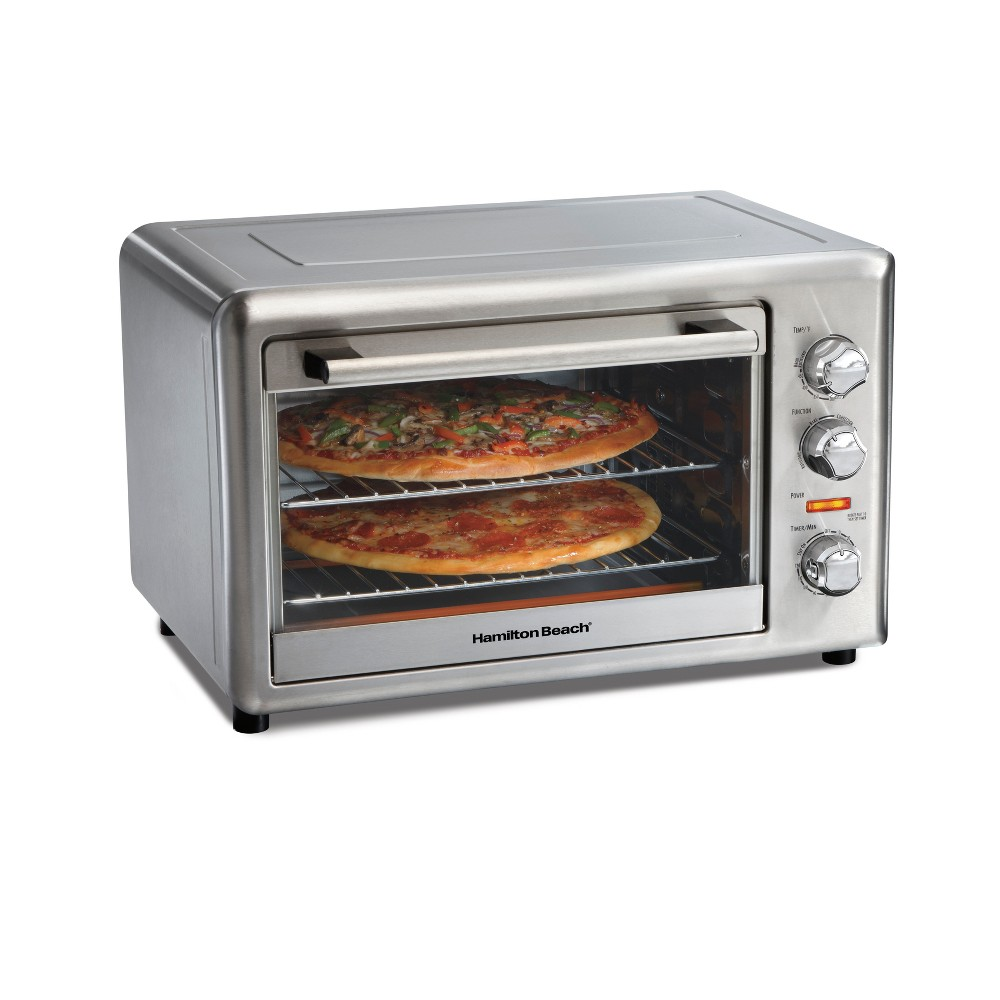 Hamilton Beach XL Convection Oven – 31153D, Black & Silver 53761747