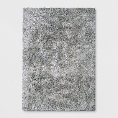 Light Gray Solid Tufted Area Rug 5'x7' - Project 62™