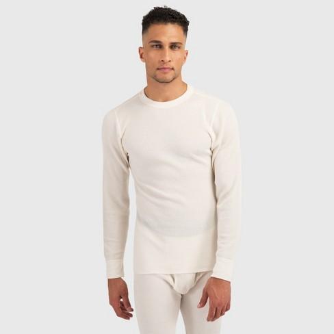 Hanes Premium Men's Xtemp with Fresh IQ Thermal T-Shirt - Ecru L - image 1 of 1