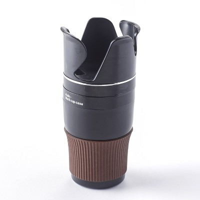 Lakeside Multifunctional Car Cup Holder for Portable Devices and Beverage Containers