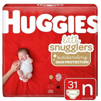 Huggies Little Snugglers Diapers Jumbo Pack - Size Newborn (31ct)