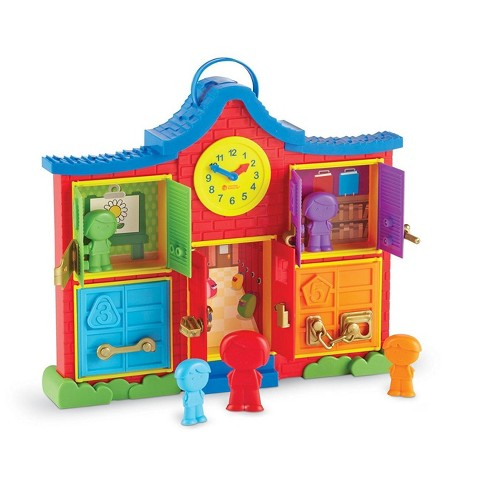 Learning Resources Latch & Learn School House Fine Motor Toy - image 1 of 4