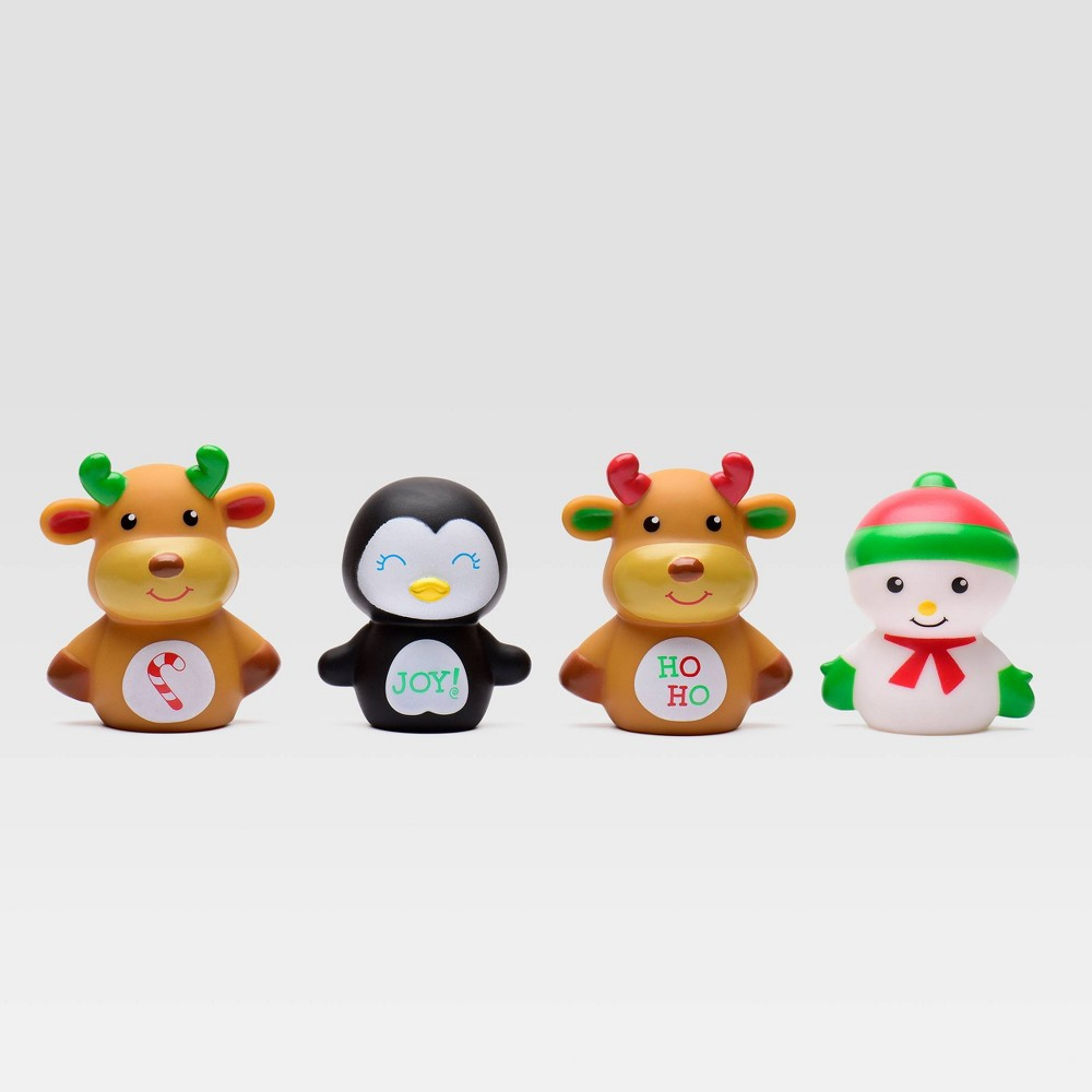 Magic Years Happy Holiday Finger Puppets 4pc