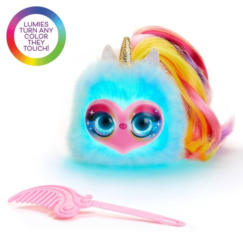 Pomsies Lumies - Rainbow Charged Interactive Pet - Pixie Pop - image 1 of 7