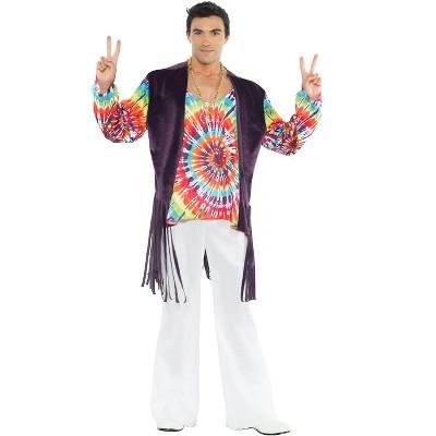 Underwraps Costumes 60'S Tie Dye Adult Costume