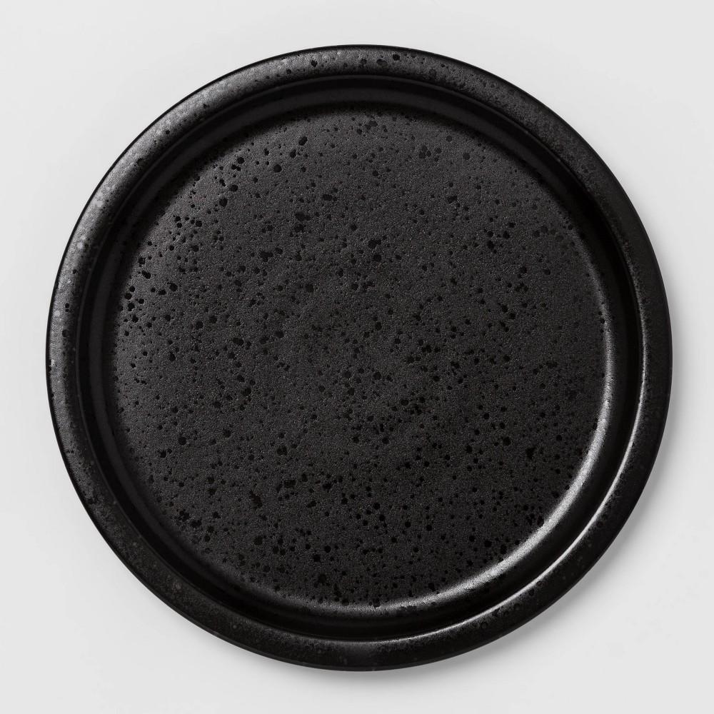 """Image of """"10.6"""""""" Porcelain Ravenna Dinner Plate Black - Project 62"""""""