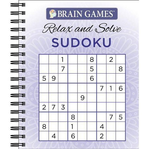 Brain Games Relax N Solve Sudoku Puzzles - by  Ltd Publications International (Spiral_bound) - image 1 of 1