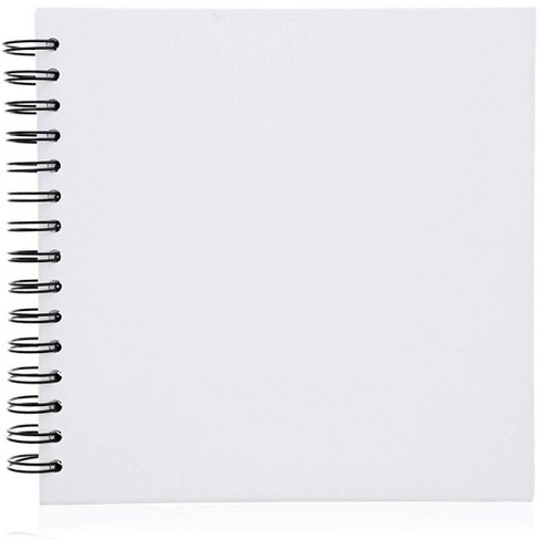 Paper Junkie Hardcover Blank Diy Scrapbook Photo Album Wedding Guestbook, 40 Sheets, 8 inches - image 1 of 4